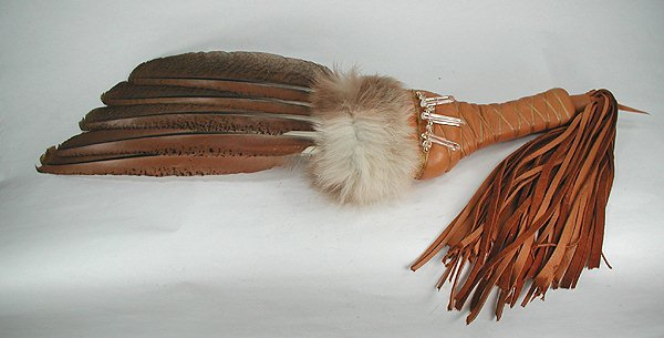 Native American Hawk Spirit Ceremonial Dance Prayer Fan